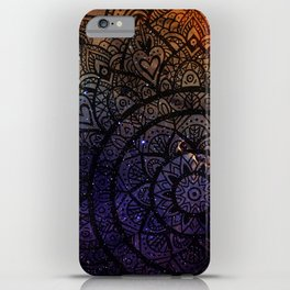 Space mandala 17 iPhone Case