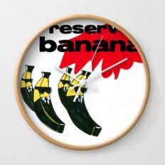 reservoir bananas Wall Clock