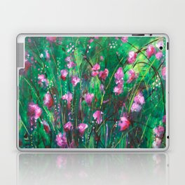 """WOODLAND SPRING"" Original Painting by Cyd Rust Laptop & iPad Skin"