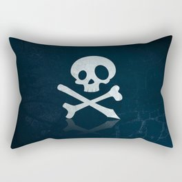 Dead Warning Rectangular Pillow