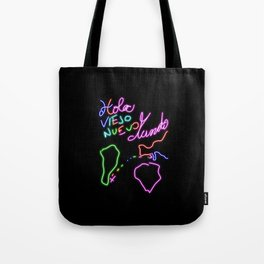 Hello Old New World! Tote Bag