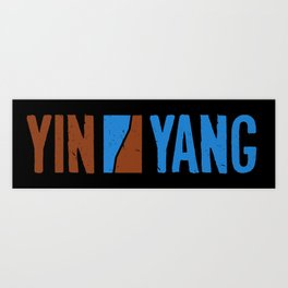NH/VT Yin Yang Art Print
