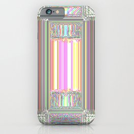 Moderne Glitch iPhone Case