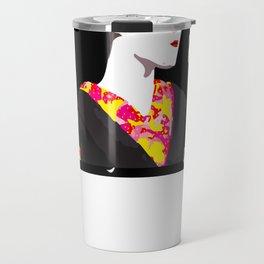Geisha Dots Travel Mug