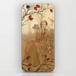 Jane Austen, Mansfield Park - the Garden iPhone Skin