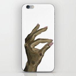 Hand acrylic painting iPhone Skin
