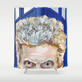 Twelfth Doctor Who Shower Curtain