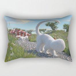 Fluffy Rectangular Pillow