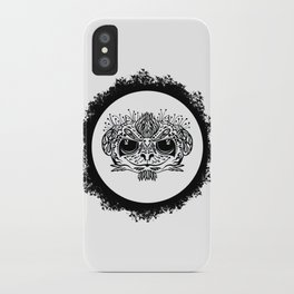 Half Evil Wild Monkey iPhone Case