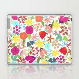 Wildflower Pattern Laptop & iPad Skin