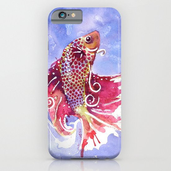 Fish Swirl iPhone & iPod Case
