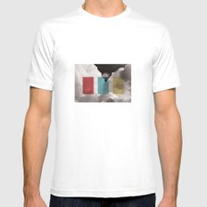 simplicity is freedom Mens Fitted Tee White MEDIUM