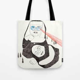 Fighting Nuns Tote Bag