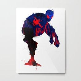A Spider's Watchful Eye Metal Print