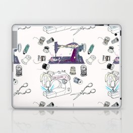 The Sewing Enthusiast Laptop & iPad Skin