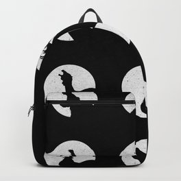 Wolf's Night Off Backpack
