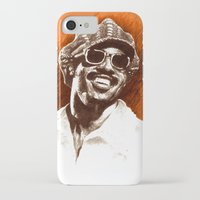stevie nicks iPhone & iPod Cases featuring Stevie Wonder by ChrisGreavesCreative