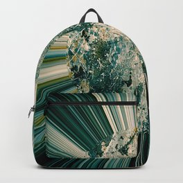 Abstract sun Backpack