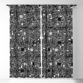 Serious Circuitry Blackout Curtain