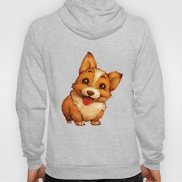 Fat Little Corgi Hoody