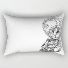 Owl Moon Rectangular Pillow