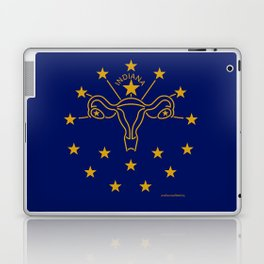 Indiana: The Crossroads of Abortion Access Laptop & iPad Skin