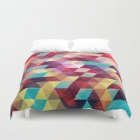 solid Duvet Covers featuring Solid colors by Tony Vazquez
