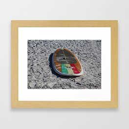 Idle Time Framed Art Print