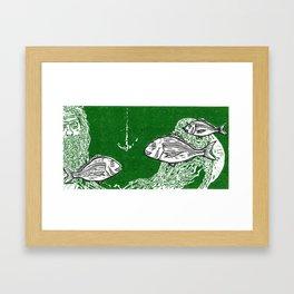 Tangaroa & the Snapper Framed Art Print