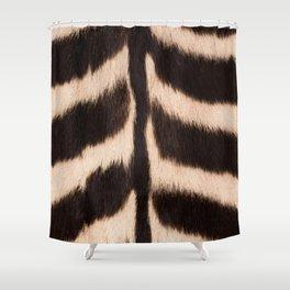 Zebra - zebra stripes -zebra skin - genuine - beautiful  Shower Curtain