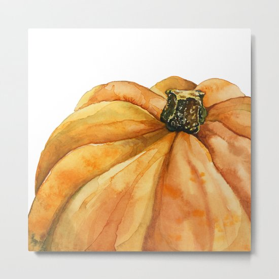 Pumpkin Metal Print