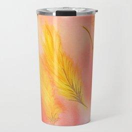 Blush Gold Skies Travel Mug