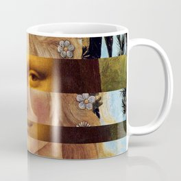 Leonardo Da Vinci'sMona Lisa & Botticelli's Venus Coffee Mug