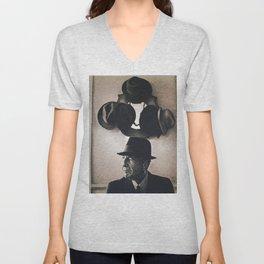 Leonard Cohen hats Unisex V-Neck