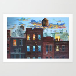 West Side Story Art Print