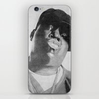 notorious iPhone & iPod Skins featuring Notorious B.I.G by tyler Guill