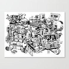 Sketchbook Composite - 1 Canvas Print