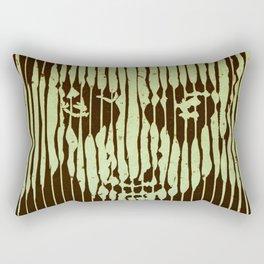 no casualities - green version Rectangular Pillow