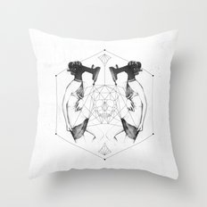Room 7609 Throw Pillow