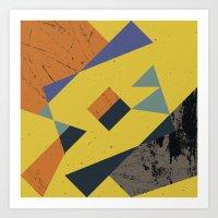 abstract  / 043 Art Print