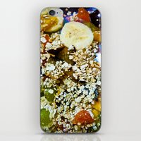 fruits iPhone & iPod Skins featuring Fruits by Mauricio Santana