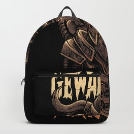 Violent when necessary Backpack