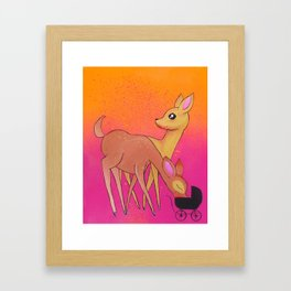 Baby Food Framed Art Print