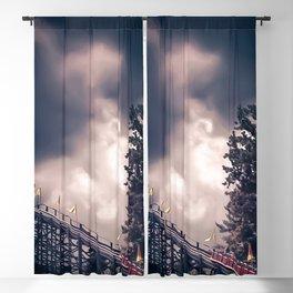 roller coaster Blackout Curtain