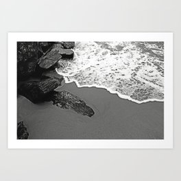 Drifting Away Art Print