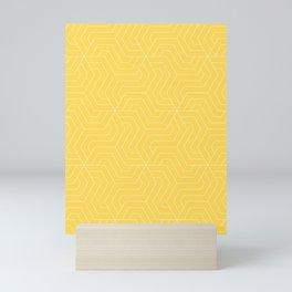Mustard - yellow - Modern Vector Seamless Pattern Mini Art Print
