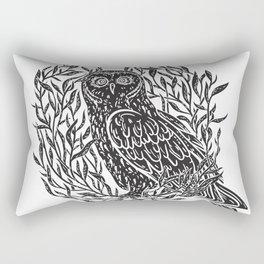 Magic Owl no1 Rectangular Pillow