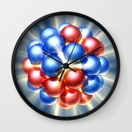 Nuclear fission Wall Clock