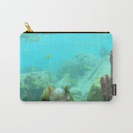 Watercolor Seascape, St John 70, USVI Carry-All Pouch