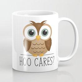 Hoo Cares? Coffee Mug